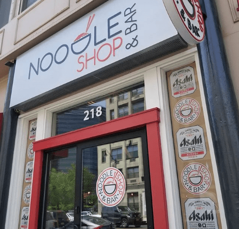 noodle shop and bar