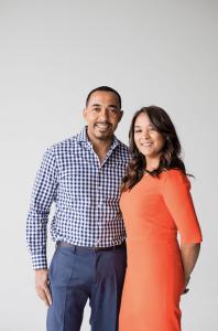 Dr. Sampson Davis and Sharlee Jeter